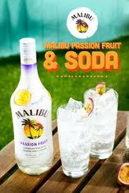 This is the easiest way to make a blue hawaii martini! Malibu Rum Maliburum Profile Pinterest