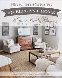 best 25 decorating on a budget ideas