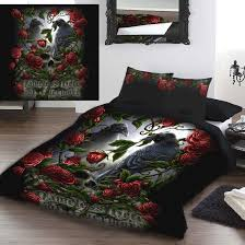 she black dragon sorrow for the lost king size duvet set us queen
