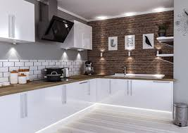 lewes high gloss white kitchen doors enlarge image
