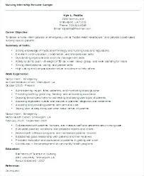 Nursing Objectives In Resume. Objectives For Resume Samples ...