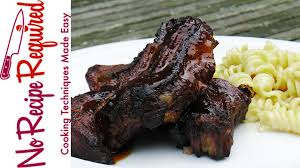 Grilled Spicy Citrus Ribs With Bourbon Glaze Recipe Grilled Country Style Pork Ribs Recipe
