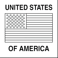 American Flag Color Page First Flag Coloring Page Large Size Of Book
