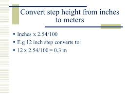 41 acsm stepping equation