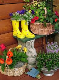 erfly garden in containers