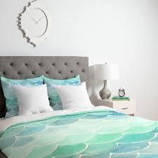 Mermaid Bedroom Decor Mermaid Scales Duvet Cover Wonder Forest
