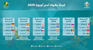 قرعة يورو 2020.. مجموعة نارية بين حامل اللقب البرتغال وبطل العالم فرنسا