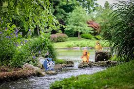 pokemon at the garden