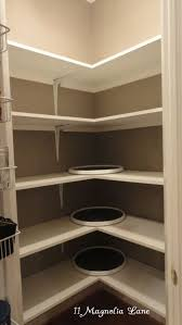 Corner Pantry Shelving Ideas Image result for corner pantry storage ideas Cocina Pinterest 2