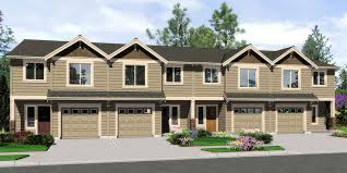 Four Bedroom Home Plans And Houses At Eplanscom  4BR House And 4 Bedroom Townhouse Floor Plans