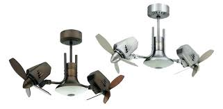 two blade ceiling fan inspiring double dual fans home sycamore single