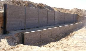 concrete sleeper retaining walls lonsdale