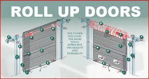 insulated roll up garage doorsRoll Up Doors Garage Overhead Shed and Barn Door Sales