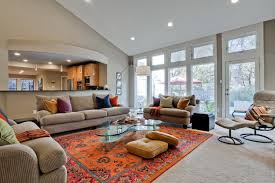 orange rugs for living room orange rug living room beautiful orange rugs in contemporary living room