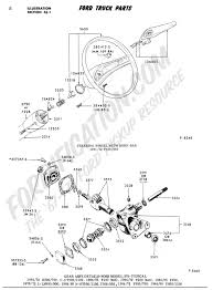 ford truck technical drawings and schematics section c steering Ford F-250 Wiring Diagram ford truck technical drawings and schematics section c steering systems and related components