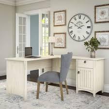 L shaped home office desk Large The Gray Barn Lowbridge Antique White Lshaped Storage Desk Overstockcom Buy Lshaped Desks Online At Overstockcom Our Best Home Office
