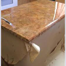 laminate making countertops look better faux granite finish kitchen waterfall counter laminate edge making countertops how to make look like granite