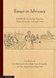essays in advocacy university of adelaide press