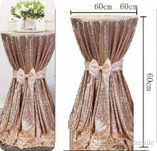 table cover for party wed decoration birthday banquet round table cover in gold silver sequined wed decoration table cover for party sequin table