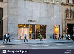 Designer Stores In Manhattan Prada Luxury Fashion Designer Store At Fifth Avenue