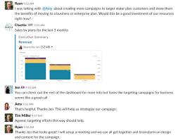 Chat With Charts Chartio Now Shares To Slack Chartio Blog