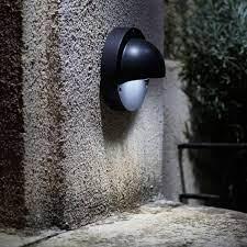 deimos led garden wall light kit