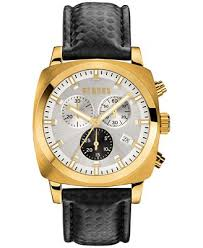 versus by versace men s chronograph riverdale black leather strap versus by versace men s chronograph riverdale black leather strap watch 40mm soi050015