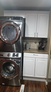 Washer And Dryer In Kitchen Kitchen Remodel After Buying A New Washer And Dryer Then