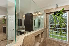 fix cracked bathroom mirror. bathroom wall with glass block tiles and mirror fix cracked u