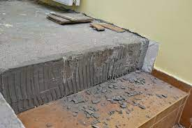 how to remove wall tile adhesive