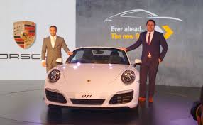 new car launches price in india2017 Porsche 911 Range Launched in India Prices Start at Rs 142