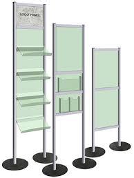 Display Stands For Pictures Pedestal Frames Poster Display Stands EasyOpen SnapFrame 97