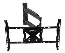 black universal swing arm tv wall bracket for 32 63 tvs