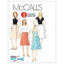 Mc Calls Patterns Best Amazon McCall's Patterns M48 Misses' Wrap Skirts Size D48 48