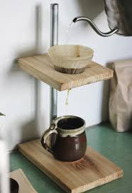Easy and cheap to make, adjustable, and a very novel addition to your kitchen. Diy Pour Over Coffee Stand The Merrythought