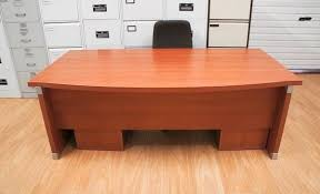 manager office desk wood tables. Executive Bow Front Manager Office Desk Wood Tables S