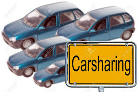 Word Cars Model Cars And Sign With The Word Carsharing Stock Photo Picture