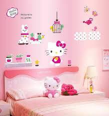 hello kitty wall sticker decal girls