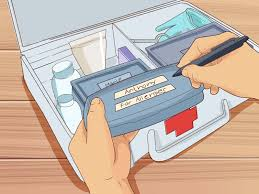 how to create a home first aid kit