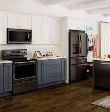 Beautiful Black Stainless Steel Kitchen Ideas 7 Javgohome Home Inspiration Black Appliances Kitchen Kitchen Renovation Black Kitchens
