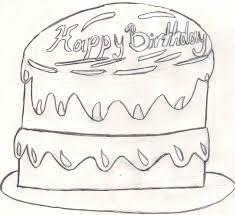 Birthday Cake Sketch Request By Fapingmulan On Deviantart