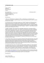Cover Letter Sample Cover Letters For Applying For A Job Sample