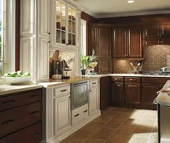 dark maple cabinets. Plain Maple Dark Maple Kitchen Cabinets In Bison Finish With Ivory Accents Inside Cabinets L