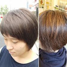 髪型ヘアスタイルショートヘアカラーアッシュ Yucaciユカシ