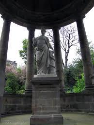st bernards well statue of hygieia