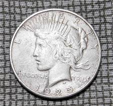 1925 Peace Silver Dollar Coin Value Prices Photos Info