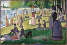 georges seurat the neo impressionist writework a sunday on la grande jatte