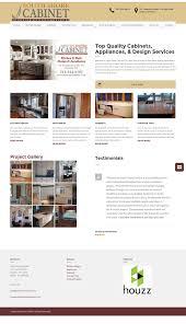 Cabinet Design Website South Shore Cabinet Website Scribendi Digital