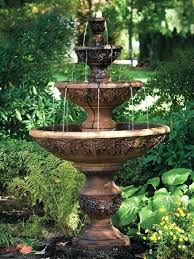 stone garden fountains best four tier cast fountain patio near me61