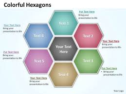 Free Download Powerpoint Presentation Templates Ppt Hexagon Shapes Chart Presentation Powerpoint Tips Free Download
